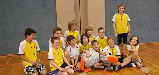 Mini team 2 - Badminton Club TSV Mindelheim